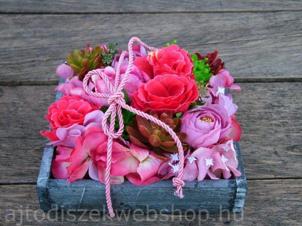 Anyák napjára asztaldísz ajándék ötlet