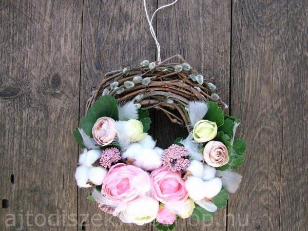 Tavaszi kopogtató rózsaszín barkás