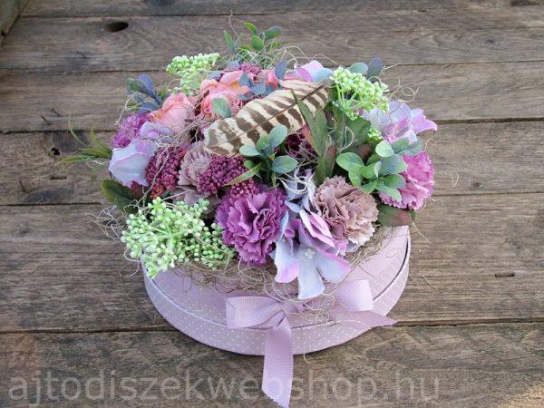 Virágbox ajándék nőknek 1