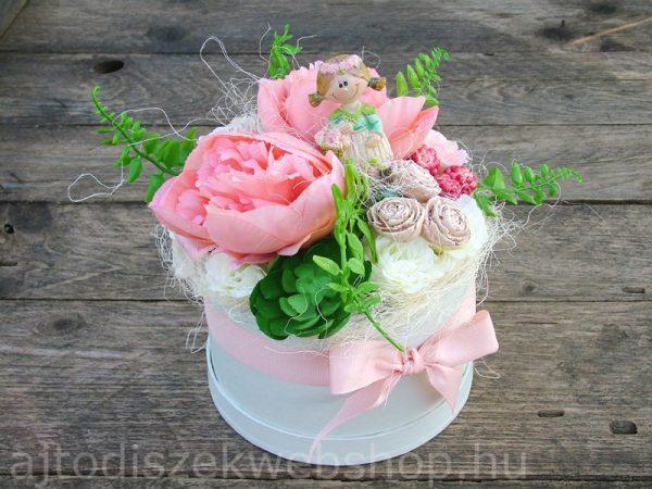 Virágbox szülinapra nőknek