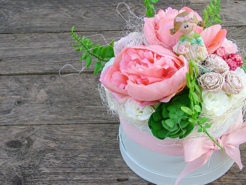 Szülinapi virágbox nőknek ajándék