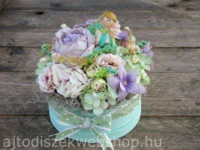 Nőknek virágbox születésnapra