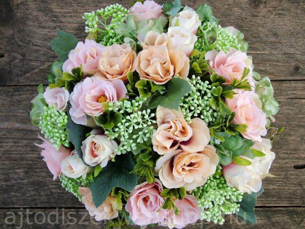Virágok dobozban nőknek ajándék 7