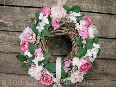 Tavaszi ajtókopogtató rózsákkal 1