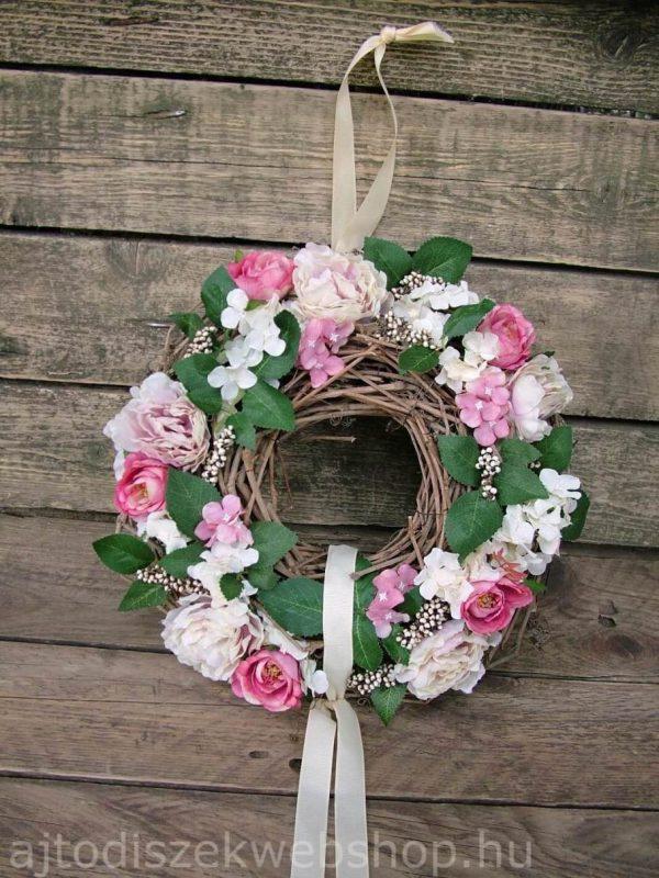 Tavaszi ajtókopogtató 3 fehér-rózsaszín
